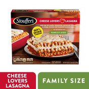 Stouffer's Family Size Cheese Lovers Lasagna Frozen Meal