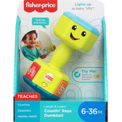 Fisher-Price Countin' Reps Dumbbell, 6-36M