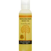 Plantlife Body Oil, Orange Blossom