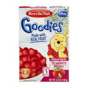 Beech-Nut Beech Nut Goodies Toddler Snacks Disney Strawberry Nibbles - 5 CT