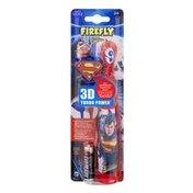 Firefly Superman 3D Turbo Power Toothbrush Soft