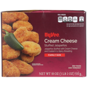 Hy-Vee Family Size Jalapenos Stuffed With Cream Cheese And Coated In A Spicy Breading
