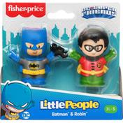 Fisher-Price Batman & Robin, DC Super Friends