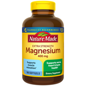 Nature Made Magnesium Oxide 400 mg Softgels