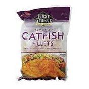 First Street Farm Raised Catfish Fillets