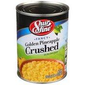 Shurfine Golden Pineapple Fancy Crushed In Its Own Juice