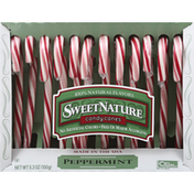 SweetNature Candy Canes, Peppermint