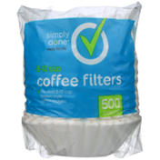 Simply Done 8-12 Cup Coffee Filters