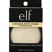 e.l.f. Putty Primer, Luminous, Universal Glow