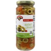 Hannaford Sliced Salad Olives