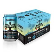 2 Towns Ciderhouse Pacific Pineapple 6-Pack - Unfiltered Pineapple Cider