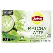 Lipton 1-step Tea K-cups Matcha Latte