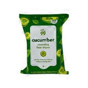 73047 Cucumber Cleansing Facial Wipes
