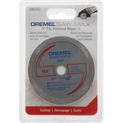 Dremel Saw-Max, Tile Diamond Wheel, 3 inch