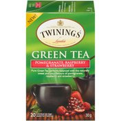 Twinings Pomegranate, Raspberry & Strawberry Green Tea Bags