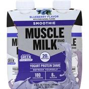 CytoSport Muscle Milk Protein Shake, Yogurt, Blueberry Flavor