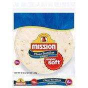 Mission Flour Tortillas, Large
