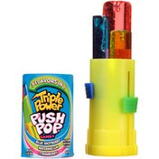 Push Pop Triple Power Candy Three-in-One Assorted Lollipops