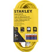 Stanley Power Cord, 25 Feet