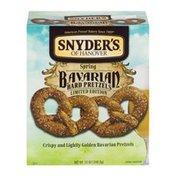 Snyder's of Hanover Spring Bavarian Hard Pretzels Limited Edition