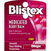 Blistex Lip Protectant/Sunscreen, Medicated, Berry Balm, SPF 15