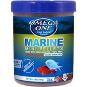 Omega One Marine Micro Pellets Slow Sinking with Garlic
