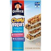 Quaker Yogurt Strawberry/Blueberry Variety Pack Granola Bars