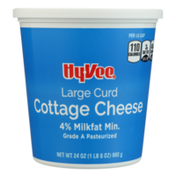 Hy-Vee 4% Large Curd Cottage Cheese