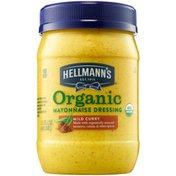 Hellmann's Mayonnaise Dressing Organic Mild Curry