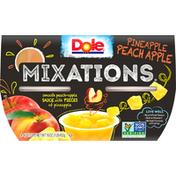 Dole Mixations Pineapple Peach Apple Fruit Blend