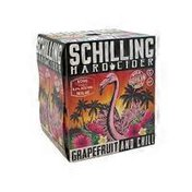 Schilling Cider Grapefruit Cider Cans