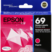 Epson Ink Cartridge, Magenta, 69