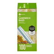 Southeastern Grocers Resealable Sandwich Bags - 100 CT