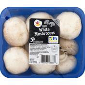 Ahold Mushrooms, White, Whole