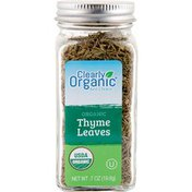 Clearly Organic Organic Thyme Leaves