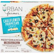 Urban Farmer Mediterranean Cauliflower Parmesan Thin Crust Urban Farmer Mediterranean Cauliflower Parmesan Thin Crust Pizza
