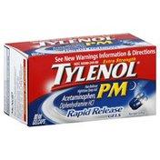 Tylenol Pain Reliever/Nighttime Sleep Aid, Extra Strength, Rapid Release Gelcaps