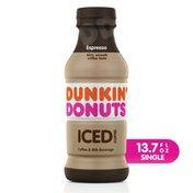 Dunkin' Donuts Espresso Iced Coffee Bottle