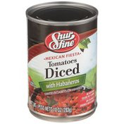 Shurfine Hot Diced Tomatoes With Habaneros