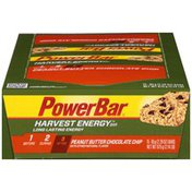 PowerBar Harvest Energy Peanut Butter Chocolate Chip Energy Bar