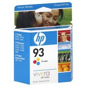 Hewlett Packard Inkjet Print Cartridge, Tri-Color 93