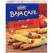 Baja Cafe Beef Taquitos