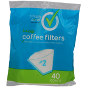Simply Done 1-4 Cup Cone Style Coffee Filters #2
