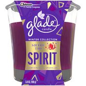 Glade Share The Spirit Candle Freshener