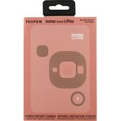 Fujifilm Camera, Blush Gold/or Rose, Mini LiPlay