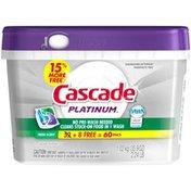 Cascade Platinum Fresh Scent Dishwasher Detergent