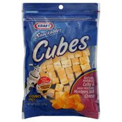 Kraft Cheese Cubes, Natural Marbled Colby & High Moisture Monterey Jack