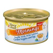 Fancy Feast Mornings Souffle with Wild Salmon, Garden Veggies and Egg Gourmet Cat Food
