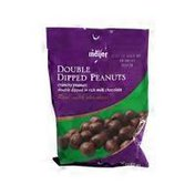 Meijer crunchy peanuts double dipped in rich milk chocolate