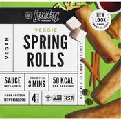 Lucky Foods Spring Rolls, Veggie